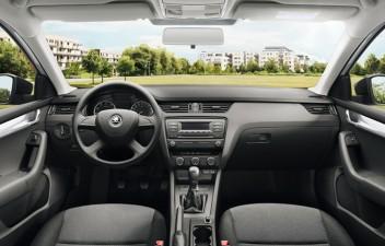 Škoda Octavia III Combi interier