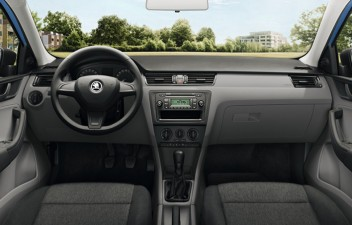 Škoda Rapid interier