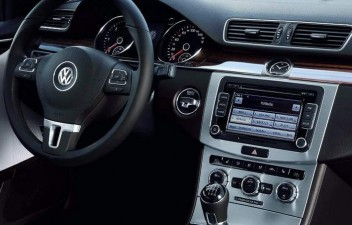 VW Passat interior