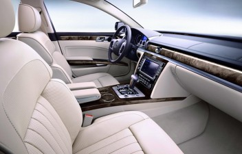 VW Phaeton interior