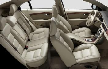 Volvo S80 interior