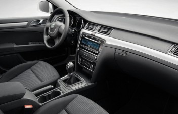Skoda Superb II interior
