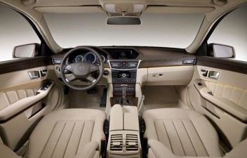 Mercedes Benz E interior
