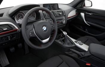 BMW 1 interier