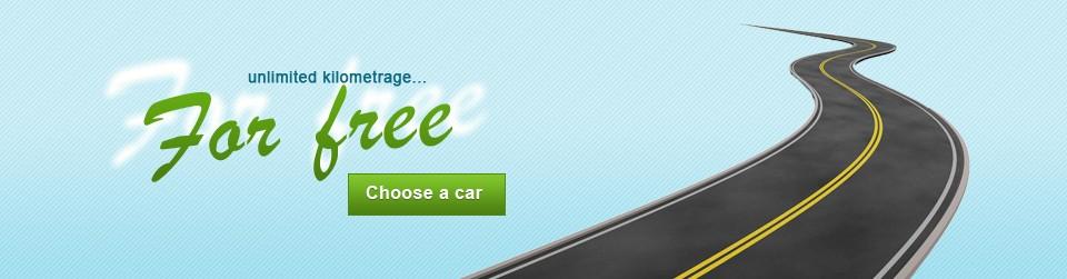Rent a car unlimited km