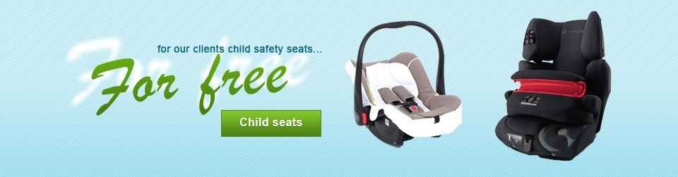 Child seats for free